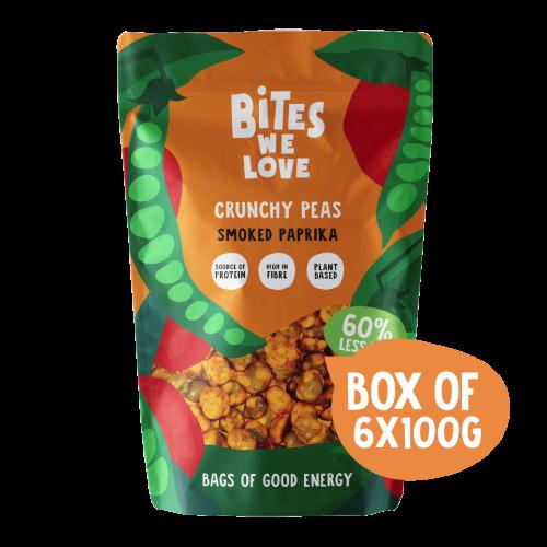 BWL Box of Crunchy Peas Smoked Paprika